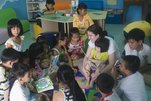 Erin Ganju traded corporate success for her dream job—increasing literacy around the world.