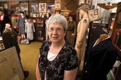 Peg Leiendecker didn't set out to create a museum in the basement of her home—­it just happened. Photo: Jeff Mankie